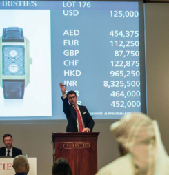 Watches worth nearly AED10m sold at Christie's 10th anniversary auction